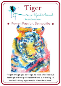 Tiger spirit animal symbolism and meaning