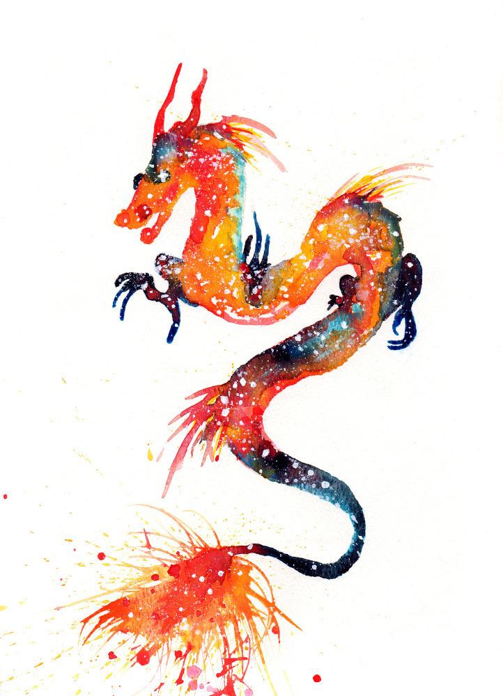 Dragon Cosmic Animal Meaning Medicine Magic