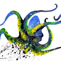 octopus spirit animal meaning and painting wall art