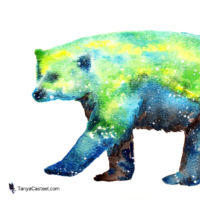 polar bear spirit animal meaning and painting wall art